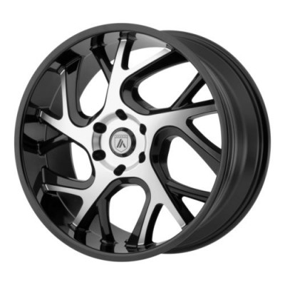 Asanti Black ABL-16 Gloss Black Machine wheel (22X9, 6x135, 87.10, 30 offset)