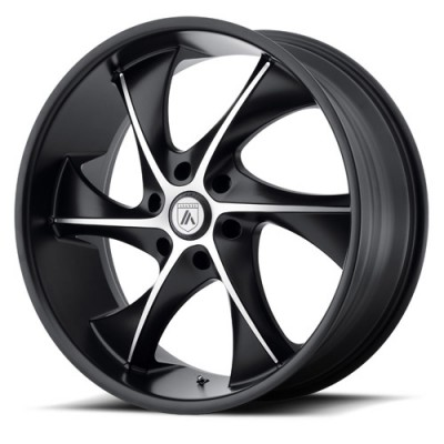 Asanti Black ABL-17 Machine Black wheel (24X9, 6x135, 87.10, 30 offset)
