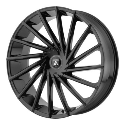 Asanti Black ABL-18 Gloss Black wheel (22X9, 6x135/139.7, 100.50, 30 offset)