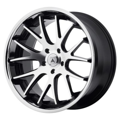Asanti Black ABL-3 Machine Black wheel (20X8.5, 5x112, 74.10, 38 offset)