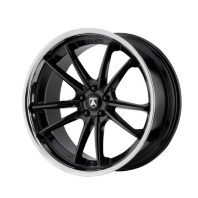 Asanti Black DELTA Gloss Black Machine wheel (20X10.5, 5x114.3, 72.6, 38 offset)