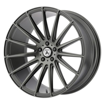 Asanti Black POLARIS Graphite wheel (20X9, , 72.6, 0 offset)
