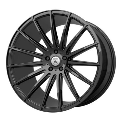Asanti Black POLARIS Gloss Black wheel (20X9, , 72.6, 0 offset)