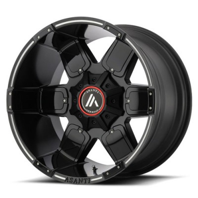 Asanti Off Road AB811 Machine Black wheel (20X10, 8x180, 124.20, -24 offset)