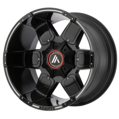 Asanti Off Road AB811 WARTHOG Satin Black wheel (20X9, 8x165.10, 125.5, -12 offset)