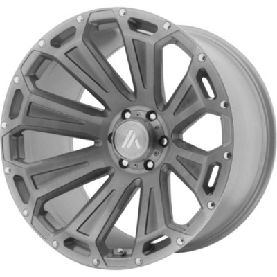 Asanti Off Road AB813 Titanium wheel (20X10, 5x127, 71.6, -12 offset)