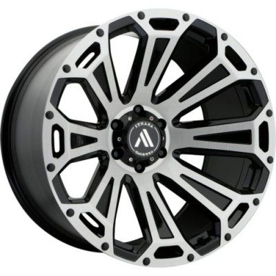 Asanti Off Road CLEAVER Black wheel (20.00X10.00, 8x170.00, 125.5, -12 offset)
