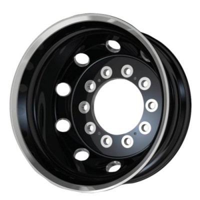 ATX Series AO404 Gloss Black Diamond Cut wheel (22.50X8.25, 10x285.75, 220.1, -168 offset)