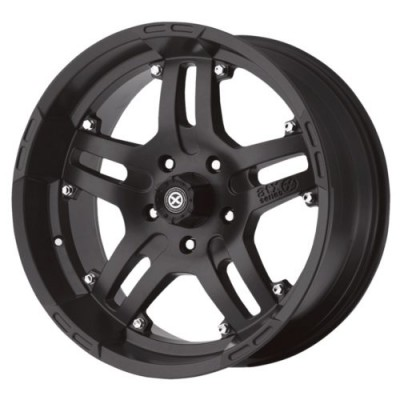 ATX Series AX181 ARTILLERY Black wheel (16X9, 8x165.1, 130.81, -12 offset)