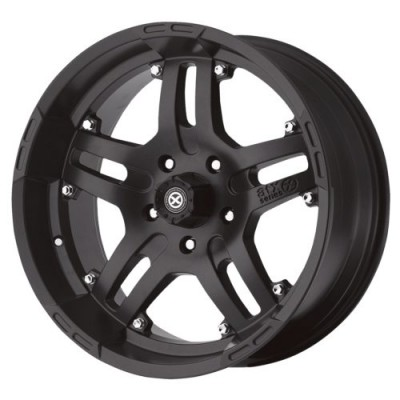 ATX Series AX181 ARTILLERY Matte Black wheel (17X9, 5x139.7, 108.00, -12 offset)