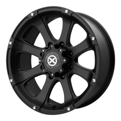 ATX Series AX188 LEDGE Black wheel (17X8, 8x180, 124.2, 0 offset)