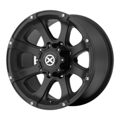 ATX Series AX188 LEDGE Matte Black wheel (15X8, 5x114.3, 72.6, -19 offset)