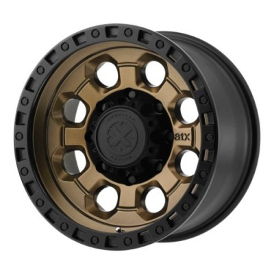 ATX Series AX201 Matte Bronze wheel (18X9, 5x139.7, 108.00, 0 offset)