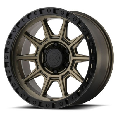 ATX Series AX202 Matte Bronze wheel (17X9, 5x139.7, 108.00, -12 offset)