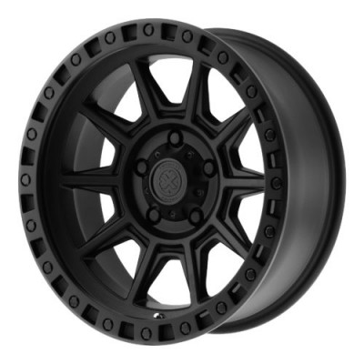 ATX Series AX202 Matte Black wheel (17X9, 8x170, 125.50, -12 offset)