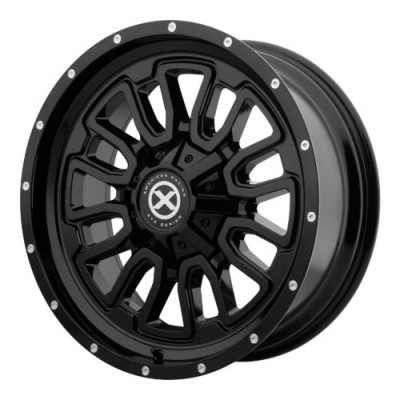 ATX Series AX203 Gloss Black wheel (20X9, 5x127/139.7, 78.30, 18 offset)