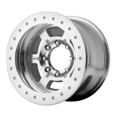 ATX Series AX757 CHAMBER PRO II Machine Silver wheel (17X9, 5x114.3, 83.5, -24 offset)