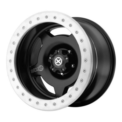 ATX Series AX757 CHAMBER PRO II Black Machine Lip wheel (17X9, 5x127, 83.5, -24 offset)