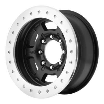 ATX Series CHAMBER PRO II Matte Black wheel (17X9, , 83.5, -24 offset)