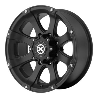 ATX Series LEDGE Black Chrome inserts wheel (20X8.5, 5x150, 110.5, 35 offset)