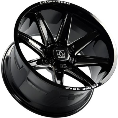 Axe Wheels ARTEMIS Gloss Black wheel (22X12.0, 8x165.1, 125.2, -44 offset)