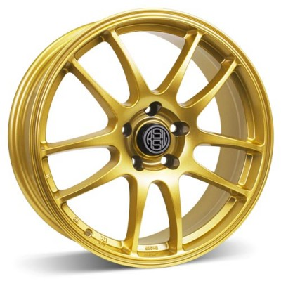 RSSW Velocity Gold wheel (16X6.5, 5x114.3, 67.1, 40 offset)