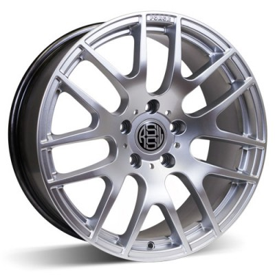RSSW Diamond Hyper Silver wheel (17X8, 5x120, 73, 35 offset)