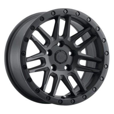 Black Rhino ARCHES Matte Black wheel (15X7, 5x114.30, 76.1, 15 offset)
