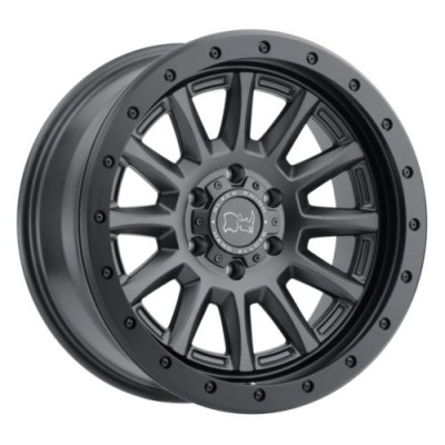 Black Rhino DUGGER Satin Black wheel (17X8.5, 6x139.7, 112.1, -18 offset)