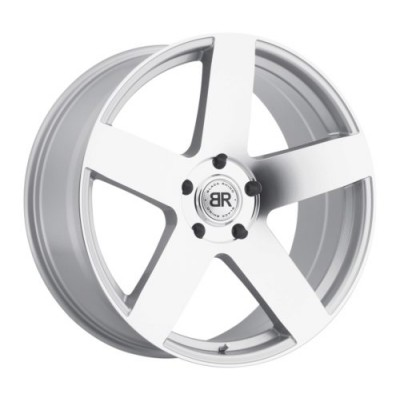 Black Rhino EVEREST Silver Machine Lip wheel (20X9, 5x150, 110, 25 offset)