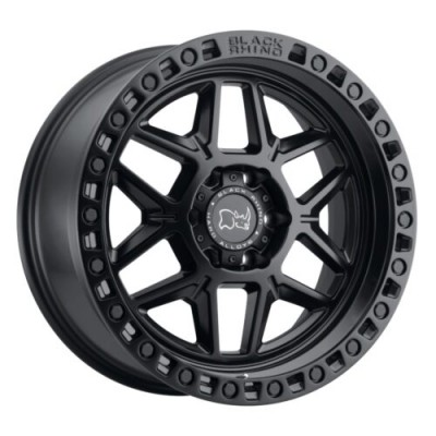 Black Rhino KELSO Matte Black wheel (17X9, 6x135, 87.1, 0 offset)