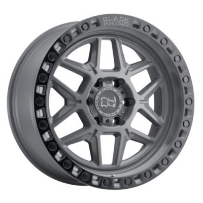 Black Rhino KELSO Grey wheel (17X9, 5x114.3, 76.1, -18 offset)