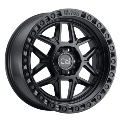 Black Rhino KELSO Matte Black wheel (17X9, 5x114.3, 76.1, -18 offset)