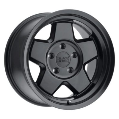 Black Rhino REALM Gloss Black wheel (16X8, 5x114.3, 71.6, -10 offset)