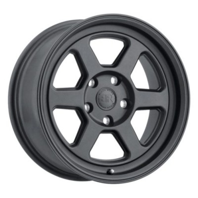 Black Rhino RUMBLE Satin Black wheel (15X7, 5x100, 56.1, 15 offset)