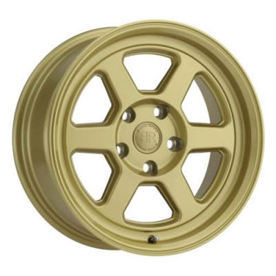 Black Rhino RUMBLE Gold wheel (15X7, 5x100, 56.1, 15 offset)