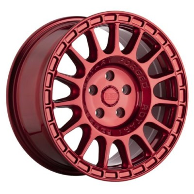 Black Rhino SANDSTORM Red wheel (17X8, 5x114.3, 76.1, 35 offset)