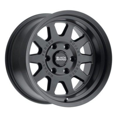 Black Rhino STADIUM Matte Black wheel (16X8, 5x139.7, 78.1, -10 offset)