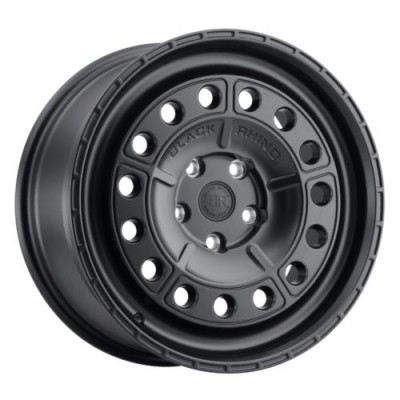 Black Rhino UNIT Matte Black wheel (15X7, 5x114.3, 76.1, 15 offset)