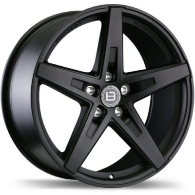 Braelin BR08 Matte Black wheel (19X10, 5x130, 71.6, 25 offset)