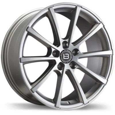 Braelin BR09 Charcoal wheel (22X10.0, 5x130, 71.6, 35 offset)