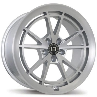Braelin BR11 Machine Silver wheel | 19X10.0, 5x112, 66.6, 25 offset