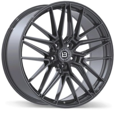 Braelin BR13 Gun Metal wheel (22X9.0, 5x128, 75.1, 30 offset)