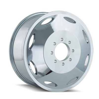 Cali Off-Road BRUTAL Inner Chrome wheel (22X8.25, 8x210, 154.2, 115 offset)