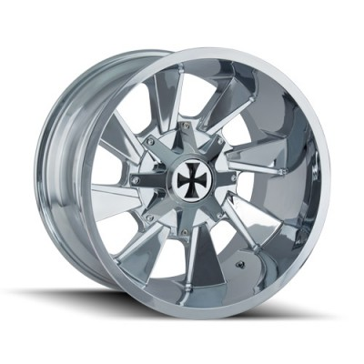 Cali Off-Road DISTORTED Chrome wheel (20X10, 6x135/139.7, 106, -19 offset)