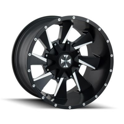 Cali Off-Road DISTORTED Machine Black wheel (20X9, 5x127/139.7, 87, 18 offset)