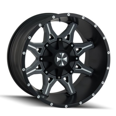 Cali Off-Road OBNOXIOUS Machine Black wheel (20X10, 5x127/139.7, 87, -19 offset)