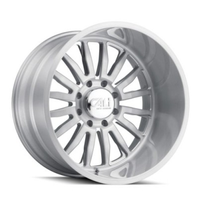 Cali Off-Road SUMMIT Machine Silver wheel (20X9, 6x135, 87.1, 0 offset)