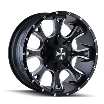 Cali Off-Road ANARCHY Machine Black wheel (20X9, 6x135/139.7, 108, 0 offset)