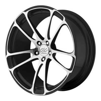 Cec Wheels C882 Matt Black Machine wheel (20X10, 5x112, 66.56, 43 offset)